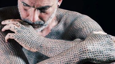 Project X: Vegan Activist Alfredo Meschi Gets 40,000 Cross Tattoos
