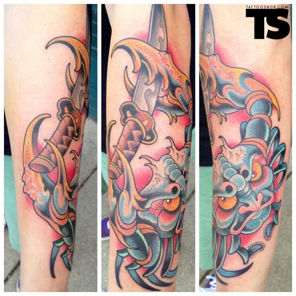 David Tevenal at Memento Tattoo & Gallery in Columbus, OH