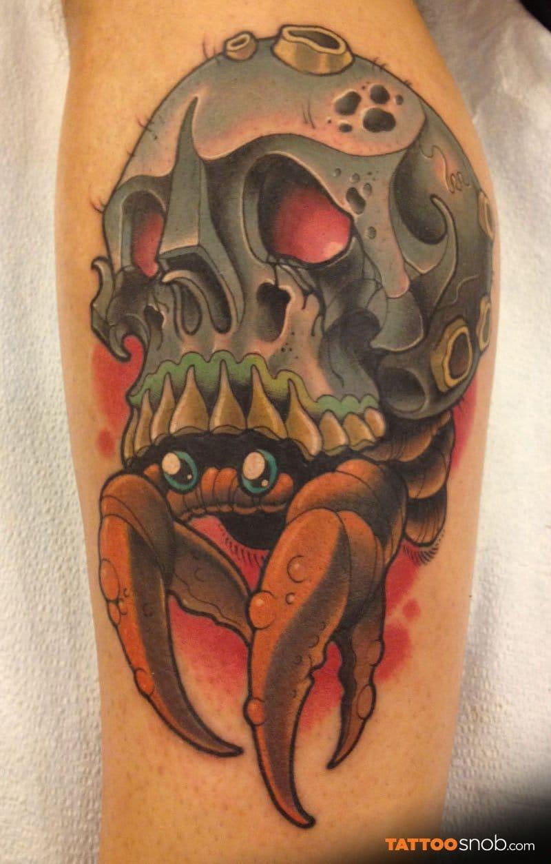 crab skull