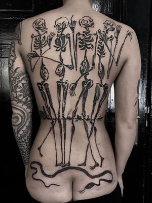 Back tattoo by Servadio #Servadio #backtattoo Top 10 Cities to Get Tattooed In #London #tattooidea #tattoo #tattooart #vacation #travel #top10 #top10cities #gettattooed