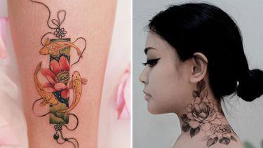 Summer Will Bloom Forever: Fantastic Floral Tattoos
