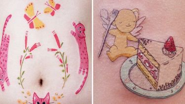 Absolutely Delightful: Cute Tattoos Just For You!
