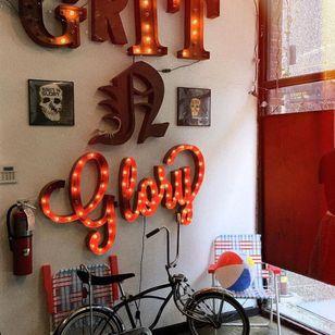 Grit N Glory #GritNGlory #NewYork #Brooklyn #tattooedtravels #tattooideas #tattooshop #tattoostudio #travel #tattoos