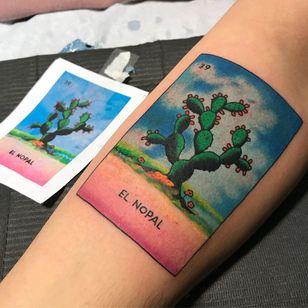 Cactus tattoo by Paulo Benevides #PauloBenevides #NewYork #Brooklyn #cactus #desert #tattooedtravels #tattooideas #tattooshop #tattoostudio #travel #tattoos