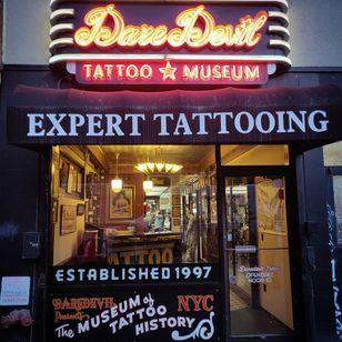 Daredevil Tattoo #Daredeviltattoo #NewYork #Brooklyn #tattooedtravels #tattooideas #tattooshop #tattoostudio #travel #tattoos