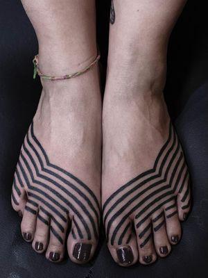 Blackwork tattoo by Damien J Thorn #DamienJThorn #blackwork #Japanese #Japaneseinspired #neojapanese #linework #illustrative #tribal #neotribal #darkart