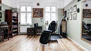 One of the rooms at Berlin Ink Tattooing #BerlinInkTattooing #BerlinInk #Berlin #BerlinGermany #tattoostudio #tattooshop