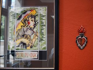 Decor at Berlin Ink Tattooing #BerlinInkTattooing #BerlinInk #Berlin #BerlinGermany #tattoostudio #tattooshop