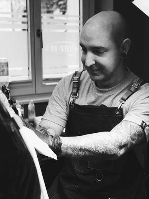 Andrew Steven #AndrewSteven #BerlinInkTattooing #BerlinInk #Berlin #BerlinGermany #tattoostudio #tattooshop #blackandgrey #realism #illustrative