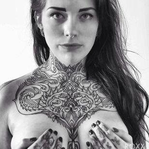 Fantastic piece, also by Roxx at 2Spirit Tattoo!