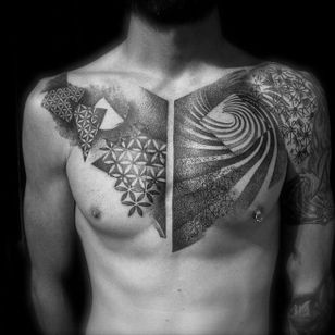 Cool abstract dotwork by Pascal Scaillet.