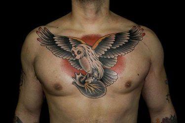 Beautiful Owl Tattoos