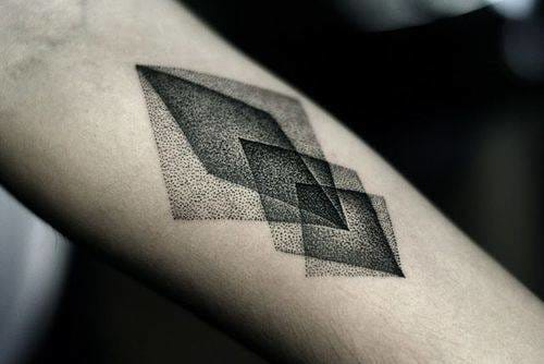 Dotwork tattoo. Artist unknown #dotwork #geometry #geometric #details