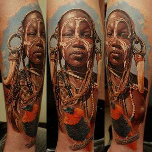 Breath-taking tattoo by Dmitriy Samohin!