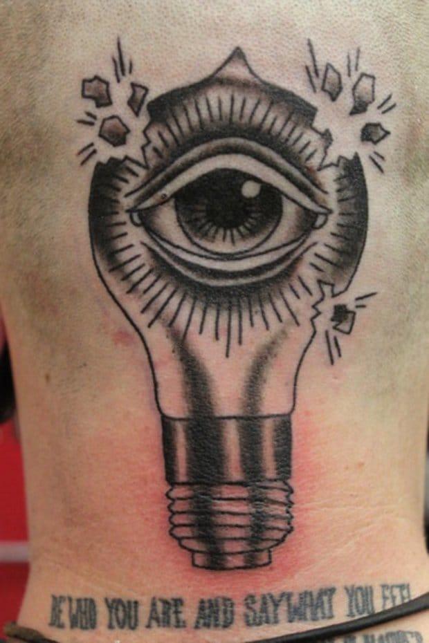 Bulbo ocular, artista desconocido