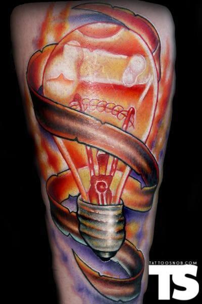 Increíble tatuaje de Steve Martin