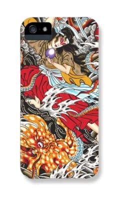 Samurai Fighting Octopus Iphone cover #CustomDesign #mikerubendall #tattooaccessories