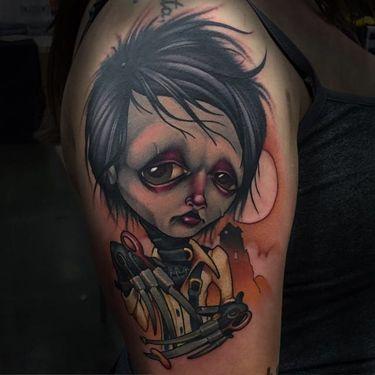 15 Fascinating Tim Burton Tattoos