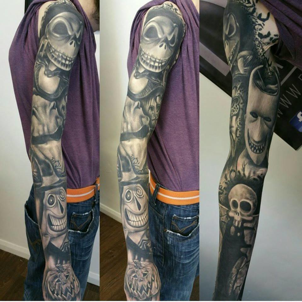 Badass sleeve by Richard Artist Guy.