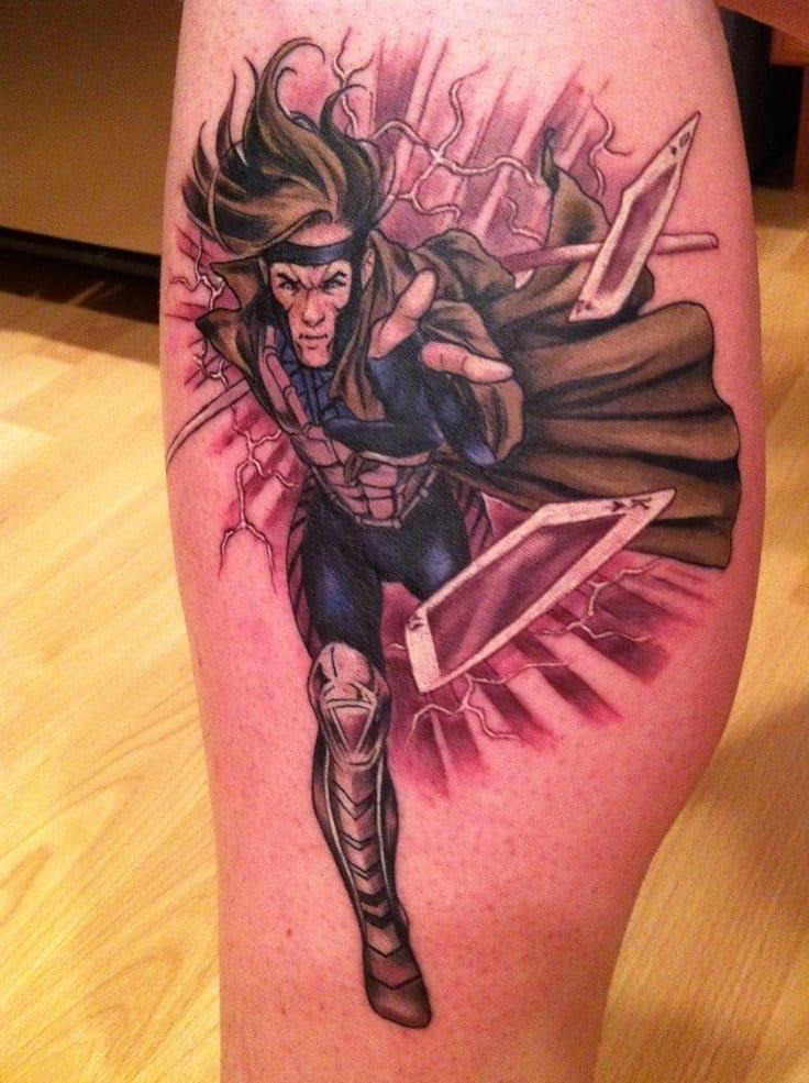 Brilliant Gambit Tattoo By Matt Lukesh