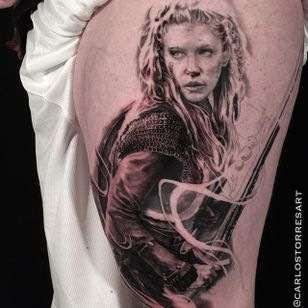Powerful Lagertha by Carlos Torres...