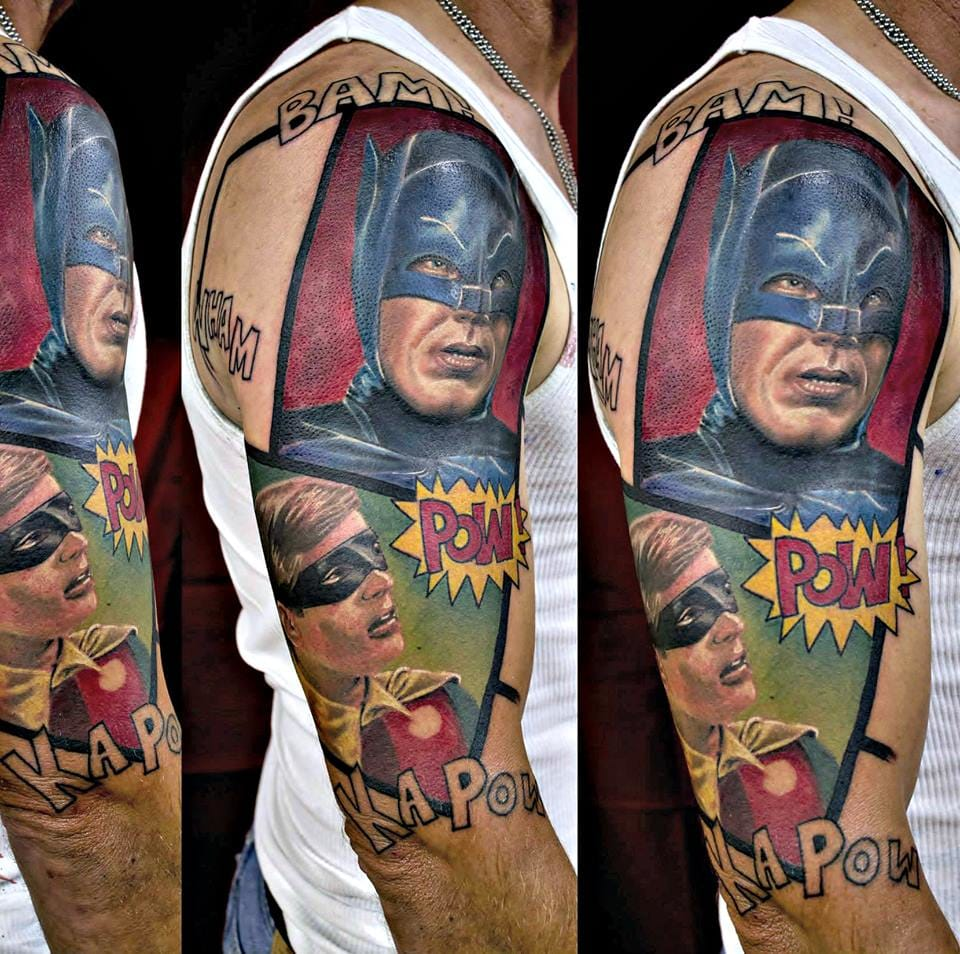 by Jerry Pipkins (Professional Tattoo Artist) of IV Horsemen Tattoo Parlor in Panama City, Florida