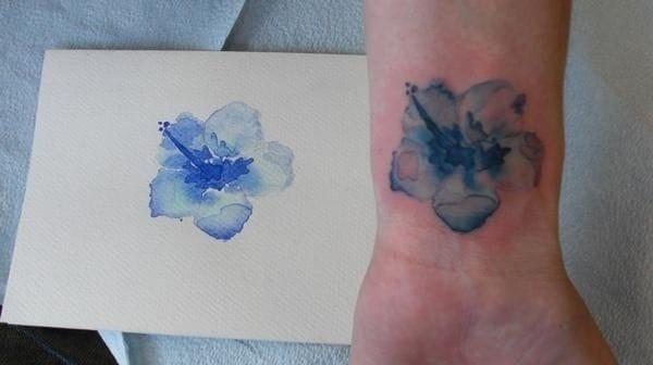 Watercolor Tattoos reflectionsuponmyskin.blogspot.it