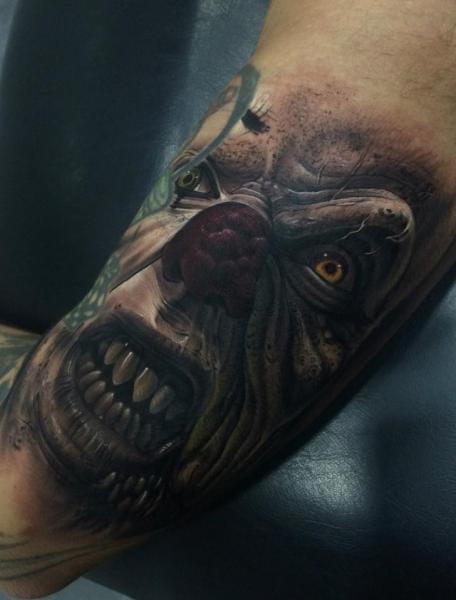 Terrifying Piece by Fredy Tattoo