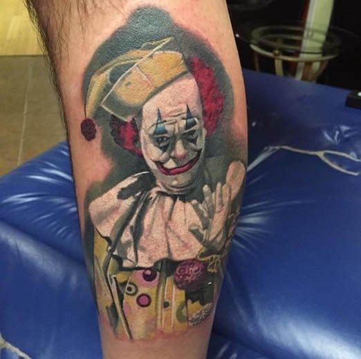 Clown Tattoo by Josh Payne