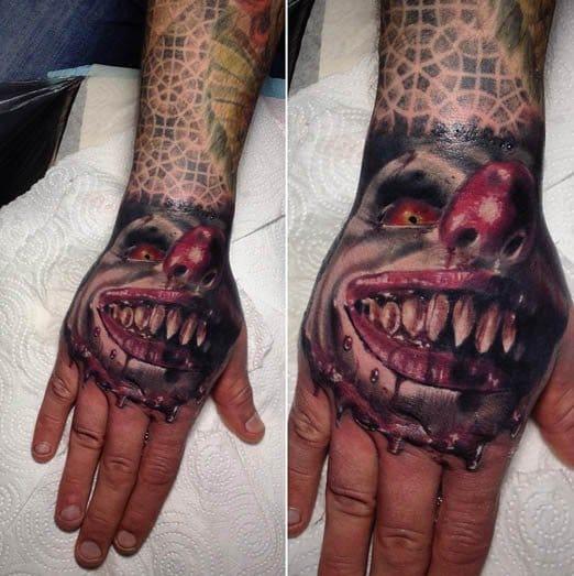Clown Tattoo by Sergey Horror