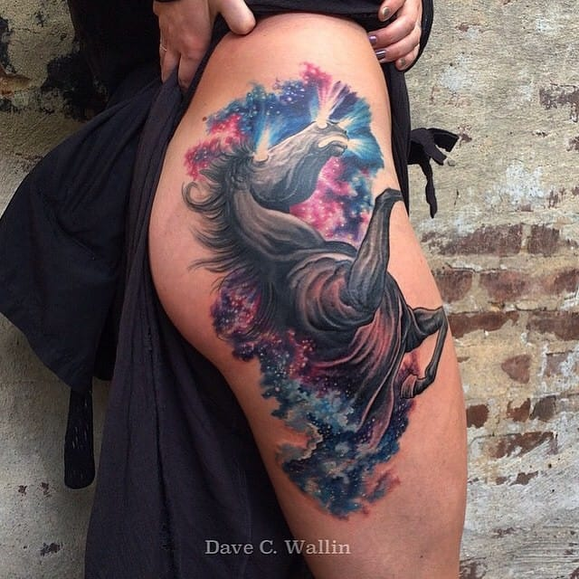 Cosmic horse by Dave C. Wallin...