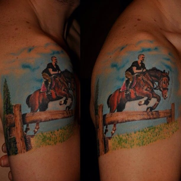 Horserider by Fatih Serdaroglu.