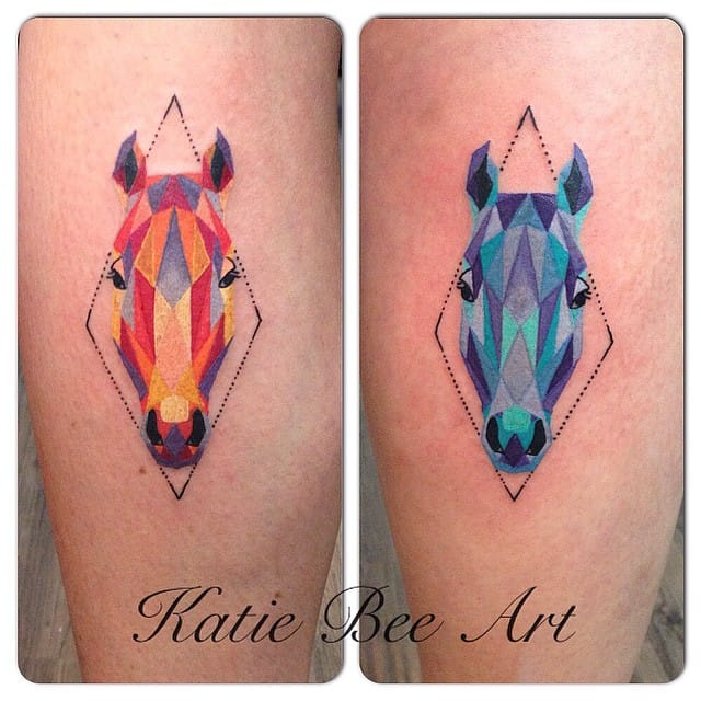 Geometric by Katie Bee.