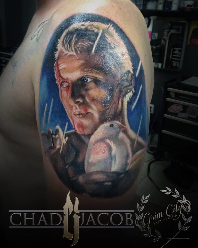 Tattoo by Chad Jacob