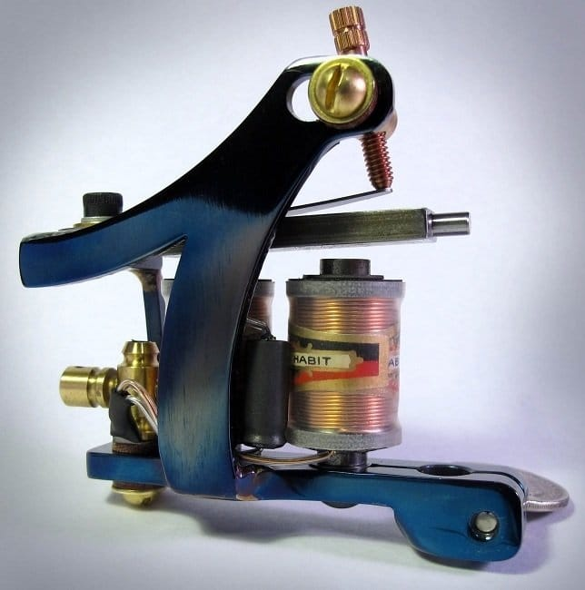 Split frame liner machine by Tim Hendricks.