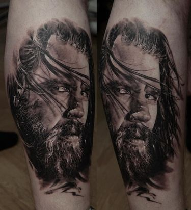 15 Tatuagens Com Barbudos De Respeito