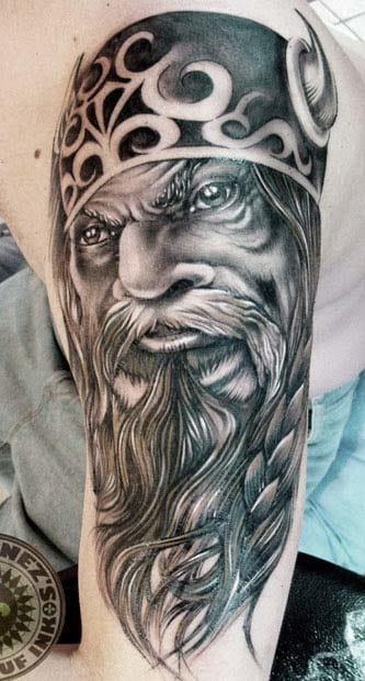 Eze Nunez e os famosos vikings! Com suas barbas imponentes