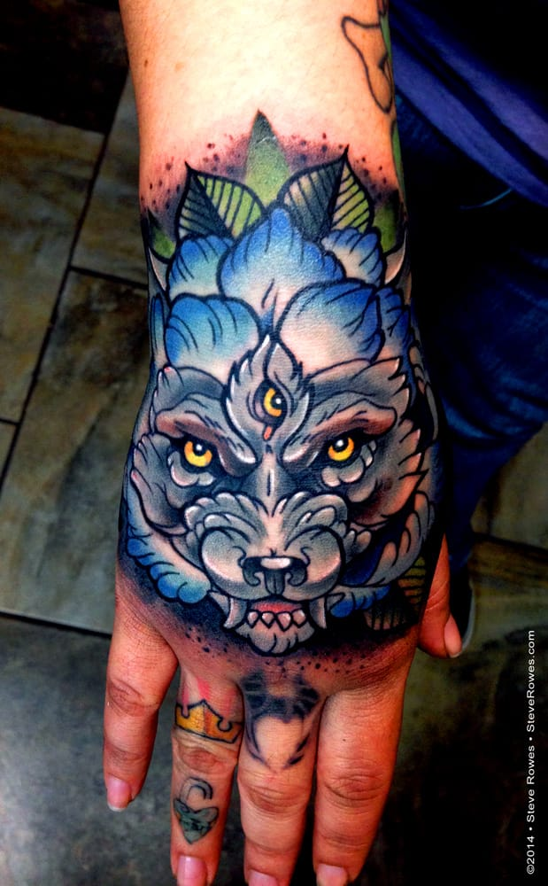 Tattoo by Steve Rowes