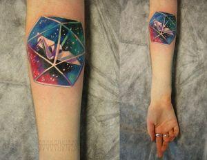 Cute little tattoo by Sasha Unisex.