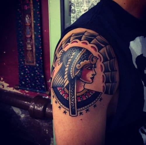 Nekhbet Tattoo by Sway Tattooer