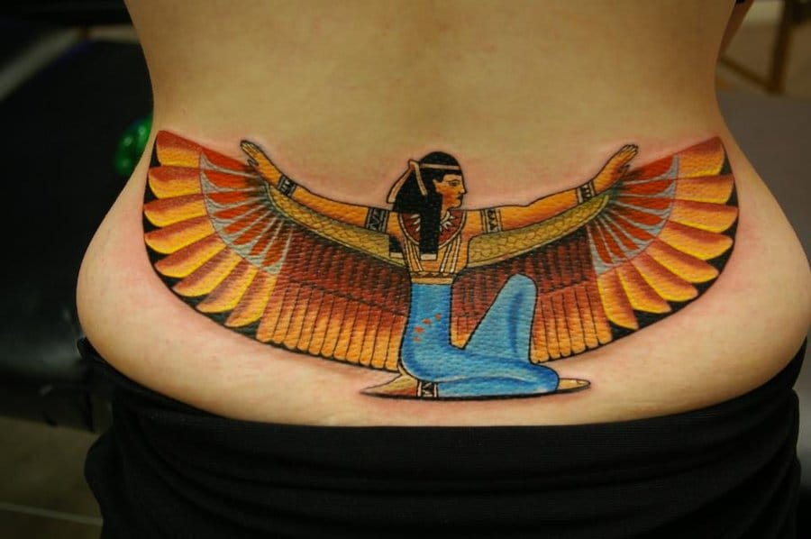 Isis Tattoo by Sandor Konya