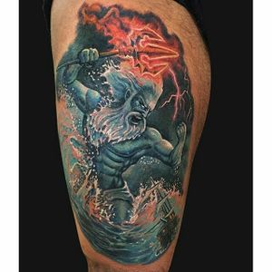 Badass Poseidon by Jamie Lee Parker...