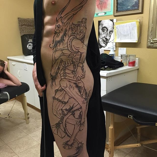 Can't wait to see this piece by Justin McGuire finished...