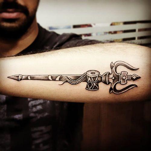 Great Shiva tattoo by Parmeet Singh.