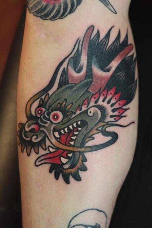 Dragon Tattoo by Alexander Wild