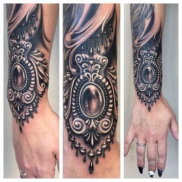 The Precious Black And Grey Tattoos Of Ryan Ashley Malarkey