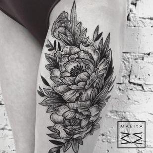 Tattoo by Mariya Summer, Moscow, Russian (Instagram @mariyasummer).