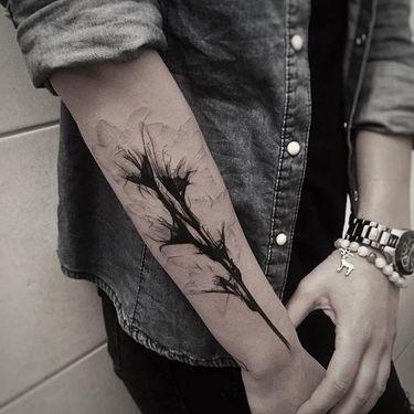 16 Dainty Xray Flower Tattoos