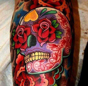 15 Phenomenal Sugar Skull Tattoos