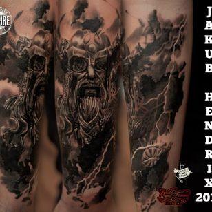 God Thor by Jakub Hendrix.